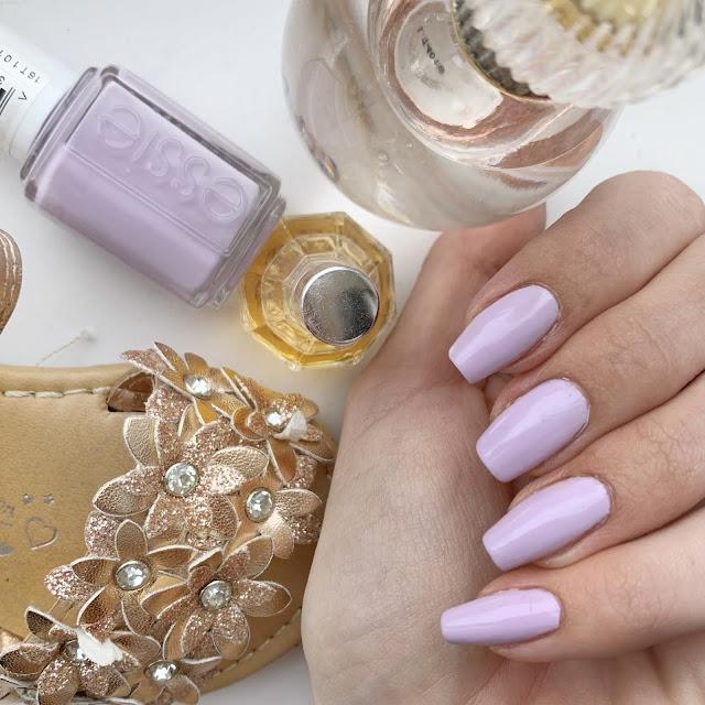 Essie-Feelin'-poppy-ruffle-your-petals-nail-polish