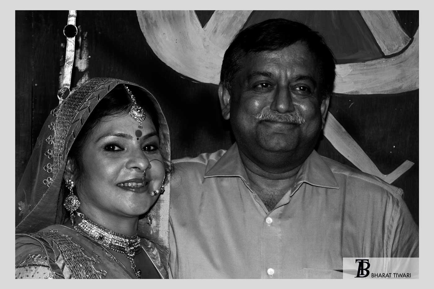 अवनीश अवस्थीजी मालिनी अवस्थी malini awasthi with husband awanish awasthi