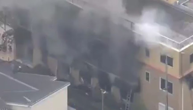 BREAKING NEWS: Studio Kyoto Animation Mengalami Kebakaran