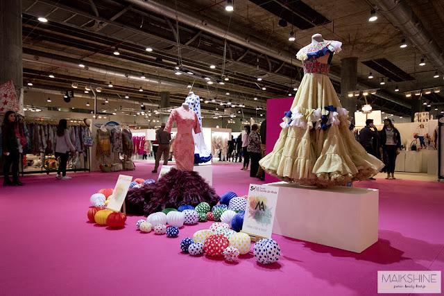 Exposición Escuela Sevilla de Moda en MOMAD