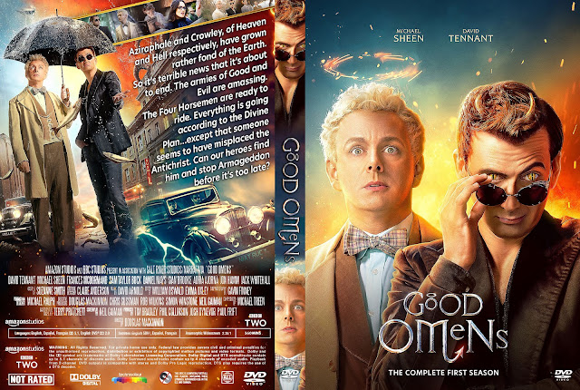 Good Omens Season 1 DVD Cover