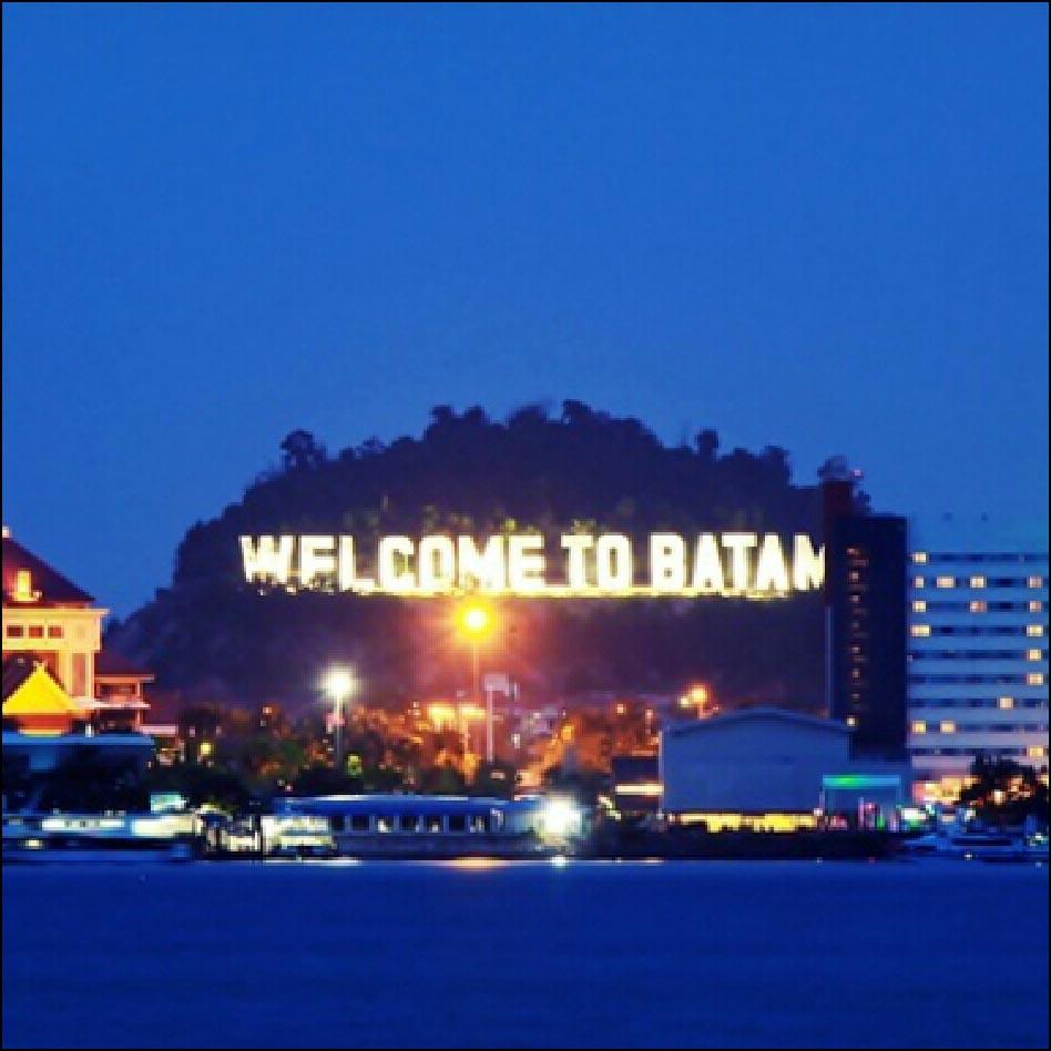 Landmark WELCOME TO BATAM, Percantik Kota Batam dan Daya Tarik Wisatawan