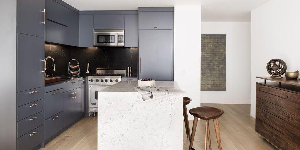 Diseño de casas - Diseño de cocinas modernas pequeñas