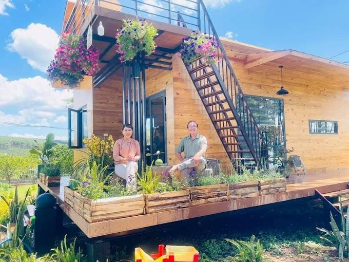 Mô hình Bất động sản nghỉ dưỡng bán nhà vườn sinh thái đầu tiên tại Lâm Đồng