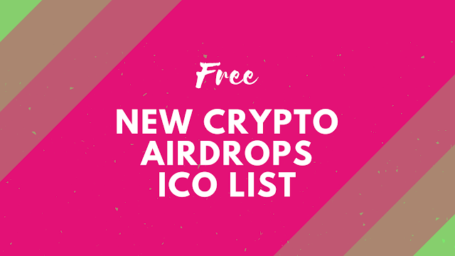 Crypto Airdrops ICO New List