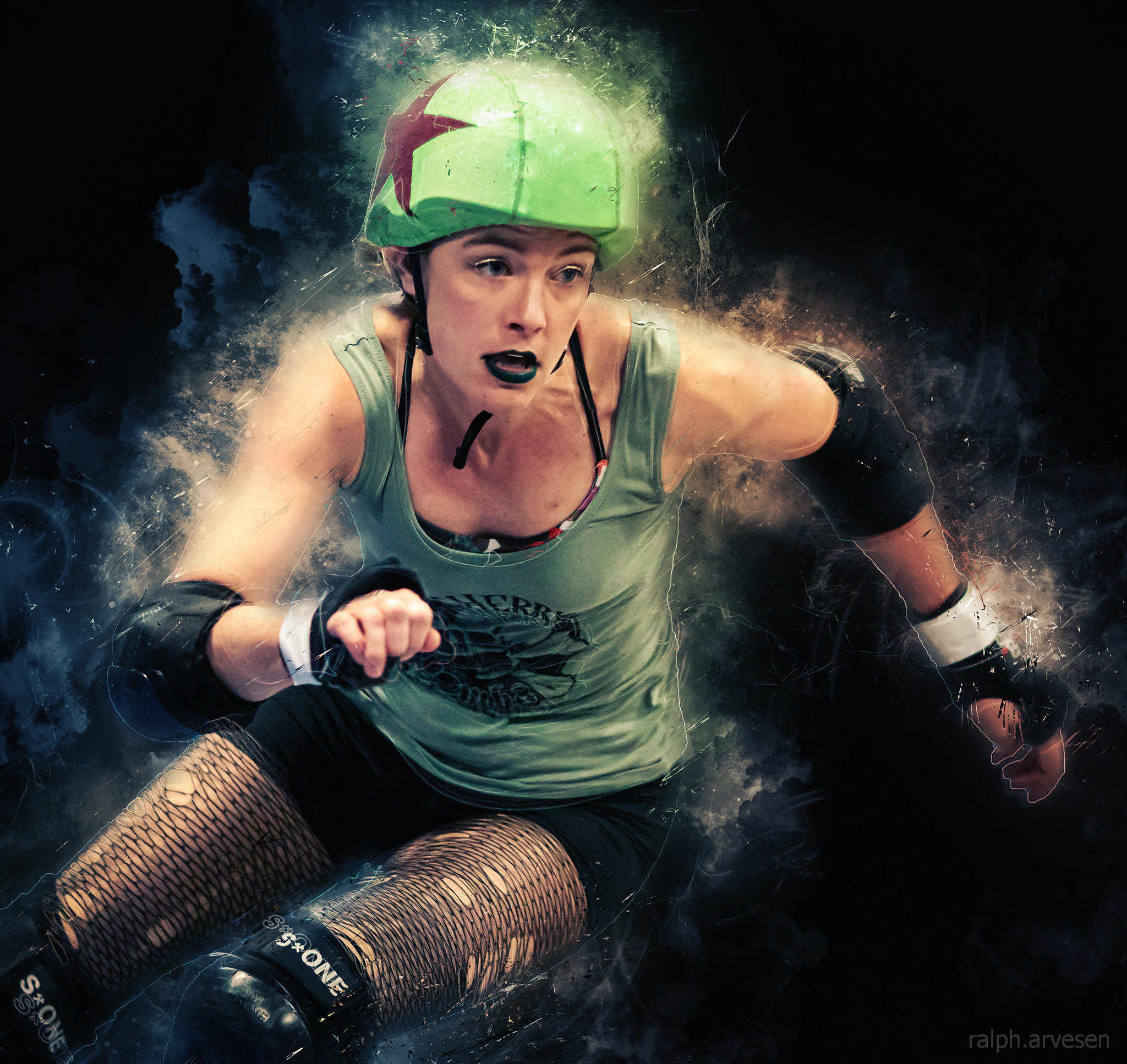 Texas Roller Derby bout | Texas Review | Ralph Arvesen