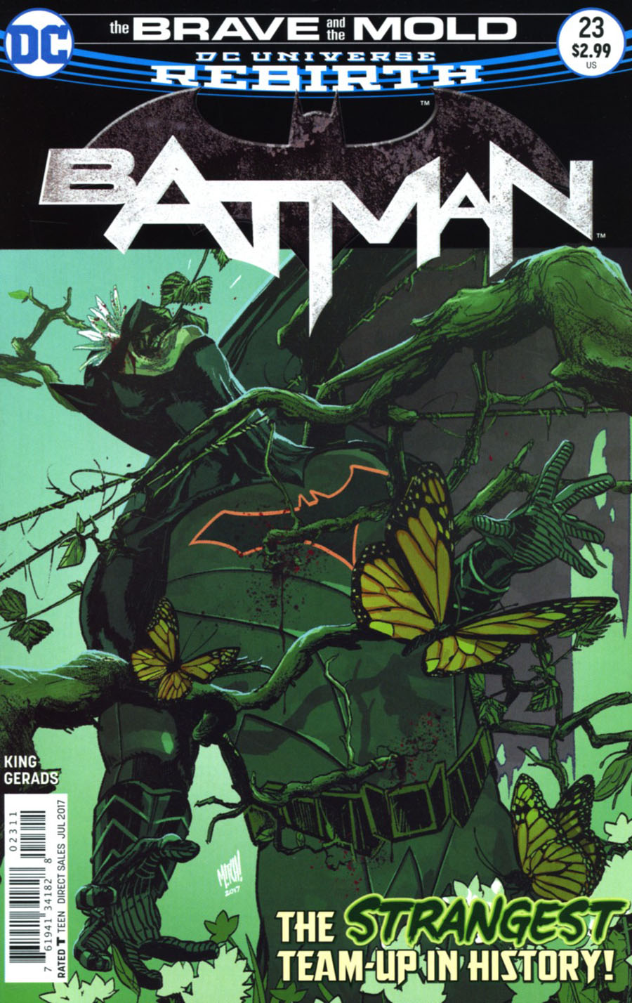 40b00d18cde6 Batman  23 (DC Comics) Writer Tom King takes a break from his ongoing