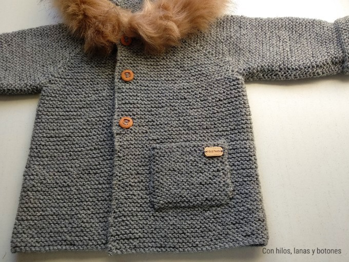 Con hilos, lanas y botones: abrigo ESQUÍO (patrón gratis)