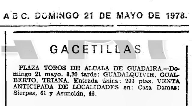 PACO TARANTO GUALBERTO RICARDO MIÑO ALCALÁ GUDAIRA