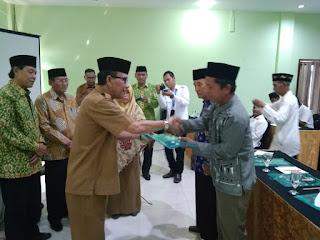Kaban Kesbangpol Provinsi Jambi Buka Sosialisasi Peningkatan Manajemen Masjid Se-Kota Jambi.