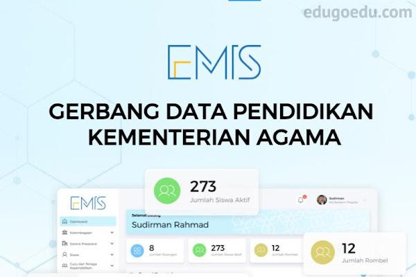 Panduan Pengisian EMIS 4 0 Madrasah