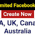 Create Unlimited USA Facebook Verified Account