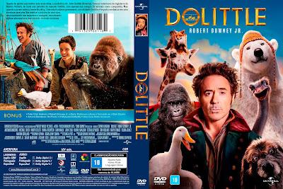 Filme As Aventuras do Dr. Dolittle (Dolittle) DVD Capa