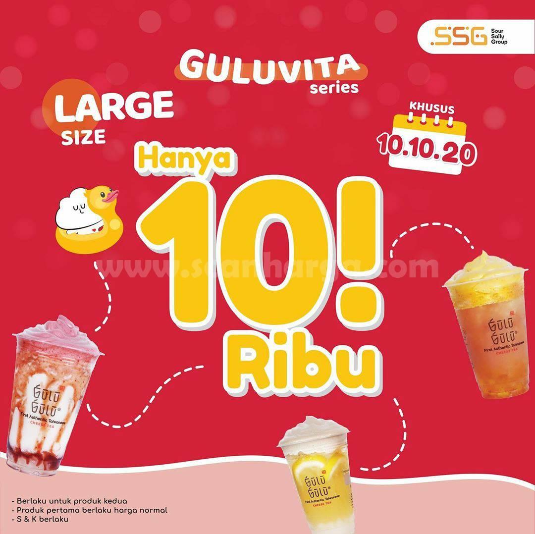 Promo Gulu Gulu Harga Spesial Guluvita Series Cuma Rp 10.000