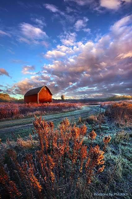Autumn Farm ~ Marvelous Nature