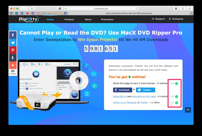 MacX DVD 轉檔