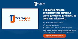 TesterJob, ganar dinero como probador de productos en Amazon