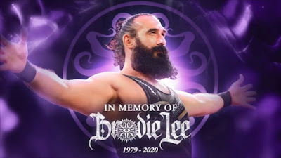 Brodie Lee Luke Harper Jon Huber Tribute Memorial WWE AEW