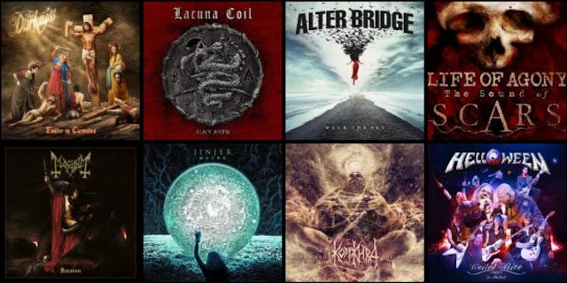 Premiery rock metal - październik 2019