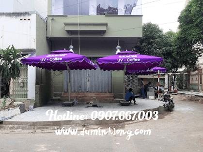 Nơi bán dù che nắng cafe tại Phan thiết