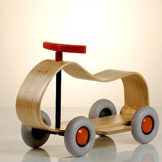 auto de madera muy innovador para tus hijos