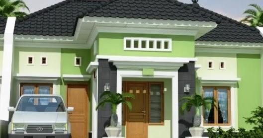 Desain Rumah Gratis 30 Contoh Kombinasi Cat Rumah Minimalis Warna Hijau Yang Nampak Natural