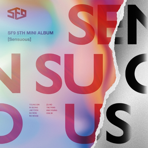 SF9 – SF9 5th Mini Album [Sensuous]