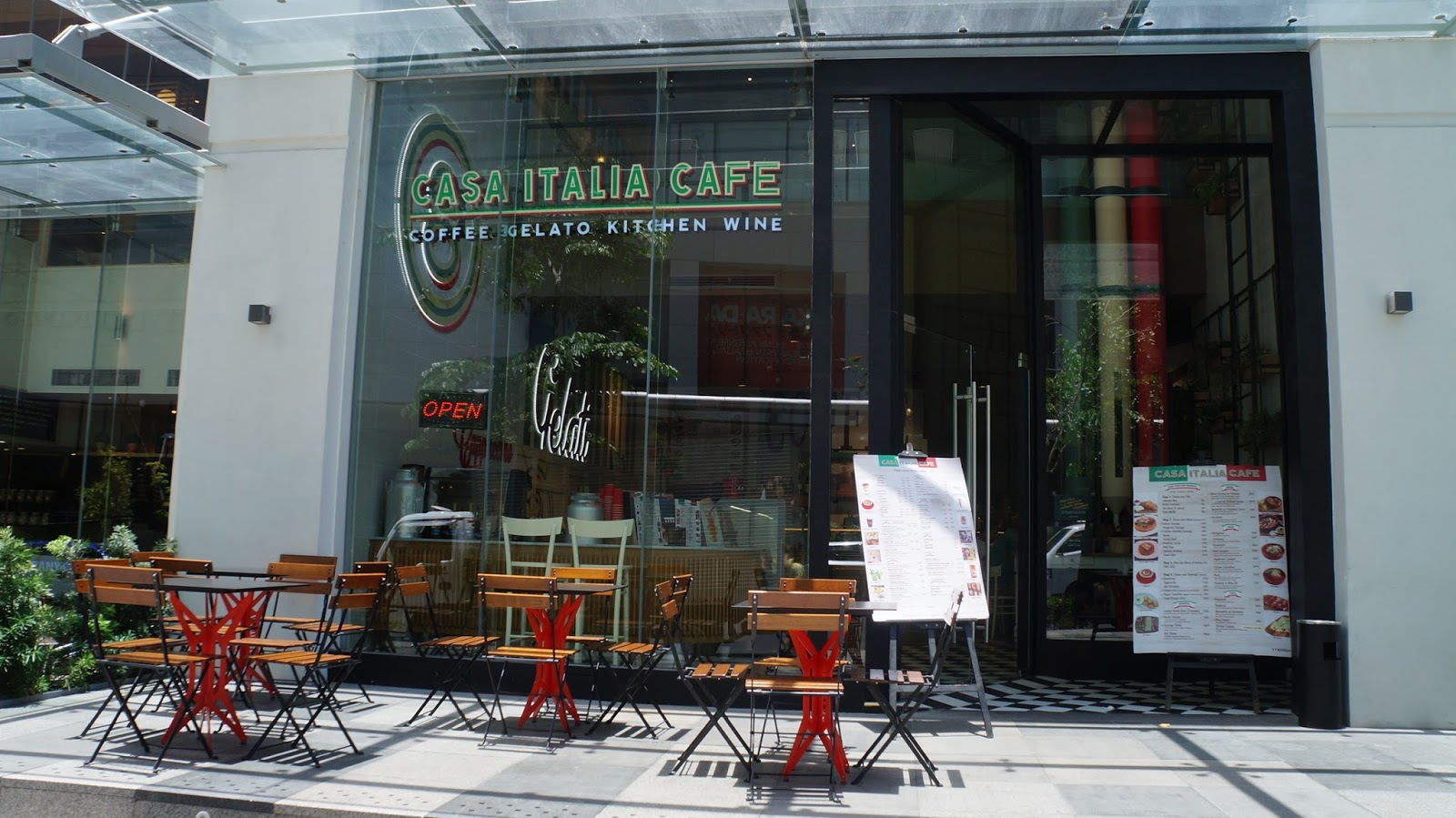 Cafe Italia Bgc Menu