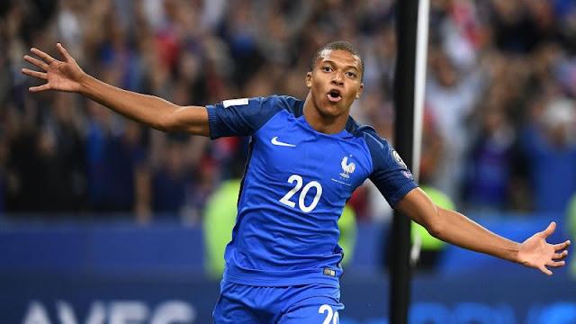 Dos goles de Thomas Lemar ayudaron a Francia a humillar a Holanda en la Eliminatoria Rusia 2018