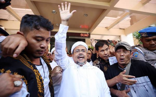 Rizieq Shihab Harus Menghormati Proses Hukum