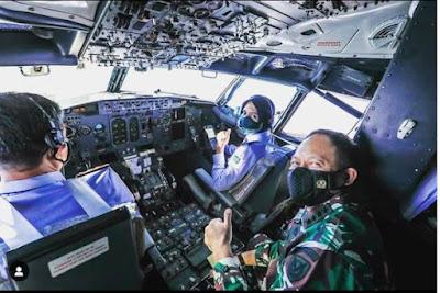 Profil Biodata Letda Pnb Ajeng Tresna Dwi Wijayanti Pilot Pesawat VVIP Tempur Wanita di Indonesia Pertama