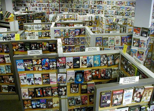 film thoughts memories video rental stores