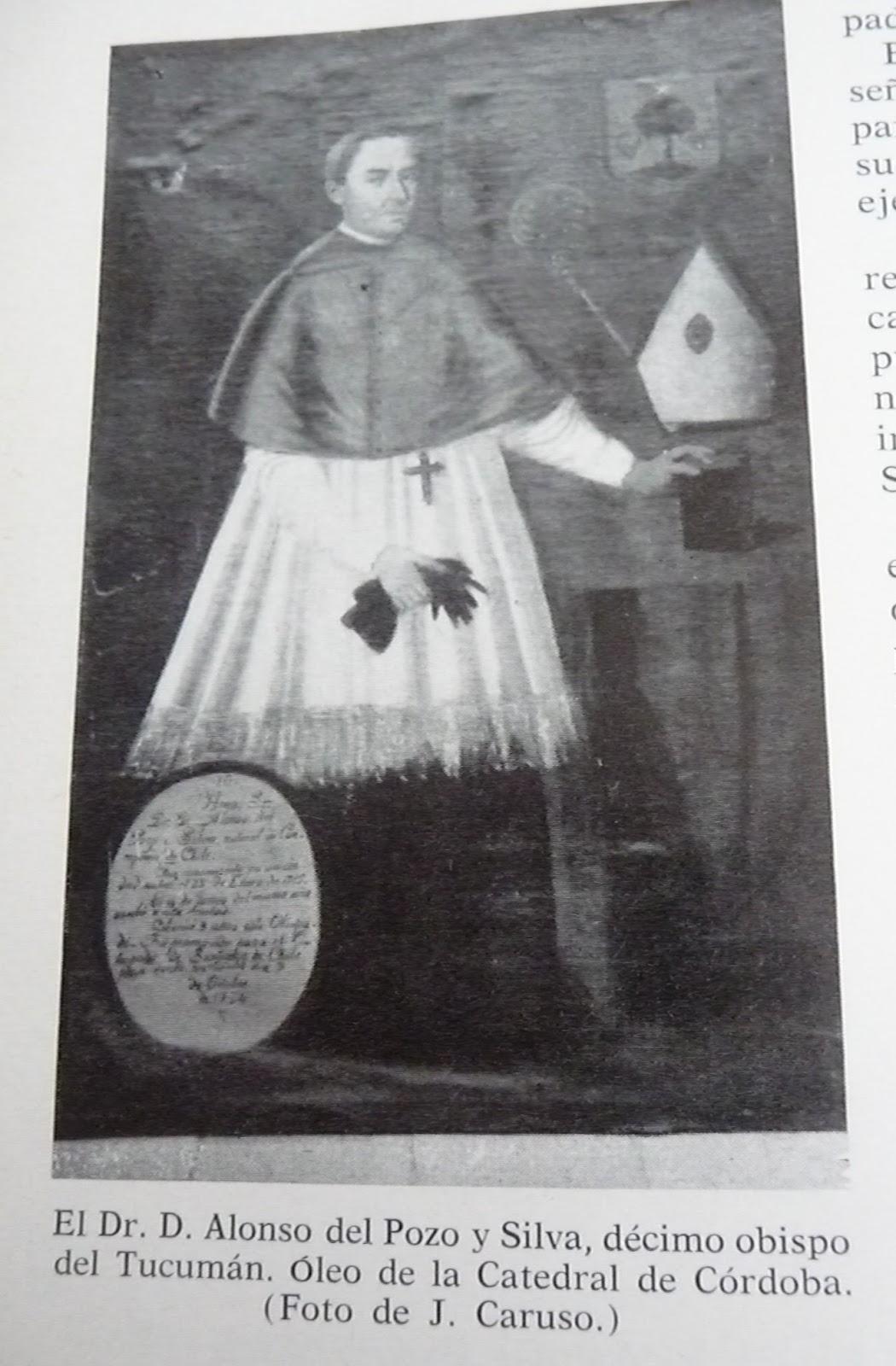 Resultado de imagen de Alonso del Pozo y Silva obispo