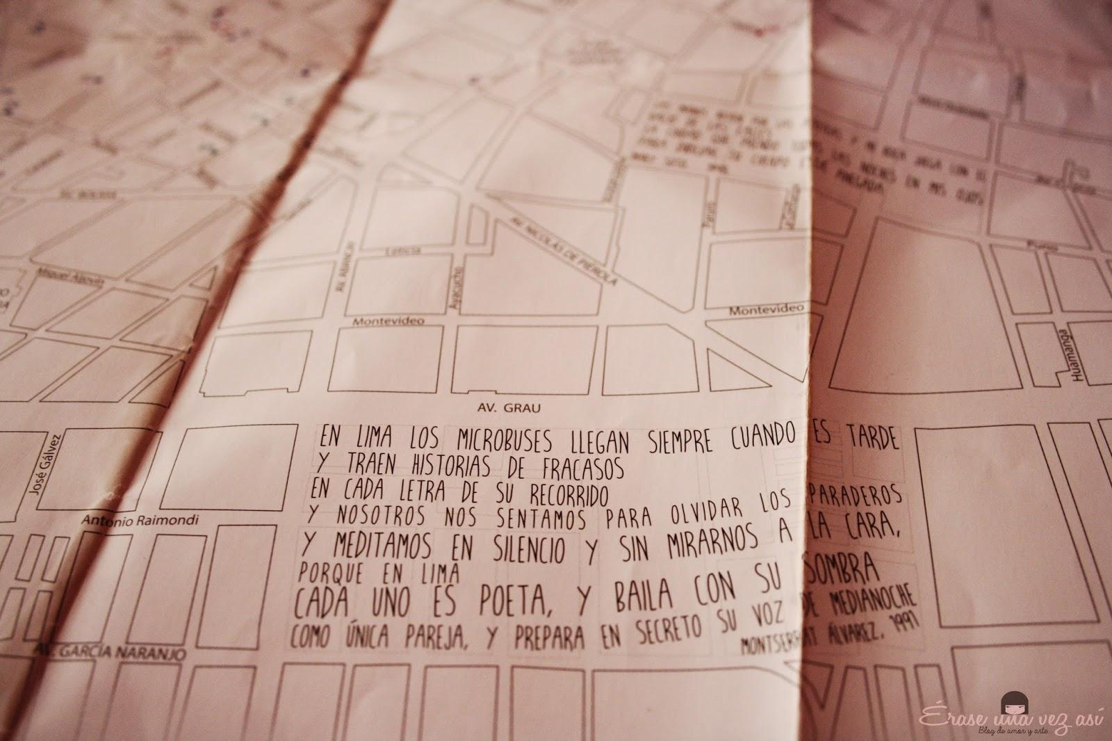mapa literario de lima, visita al mapa literario de lima, recorrido del mapa literario de lima