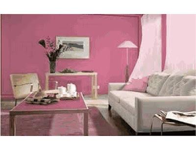 warna cantik dalam rumah sederhana