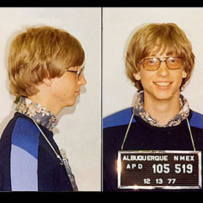 Bill Gates At Jail