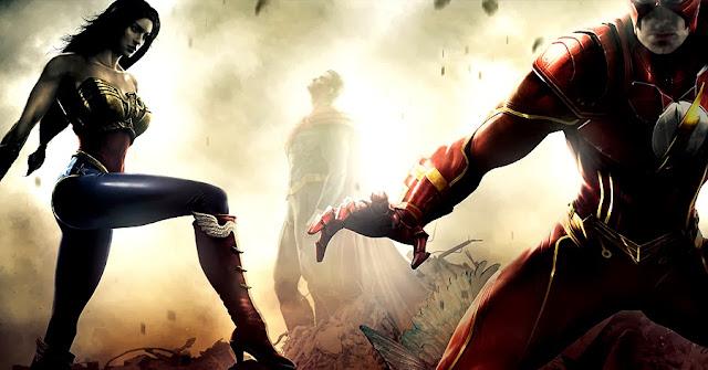 Wonder Woman, Superman şi Flash