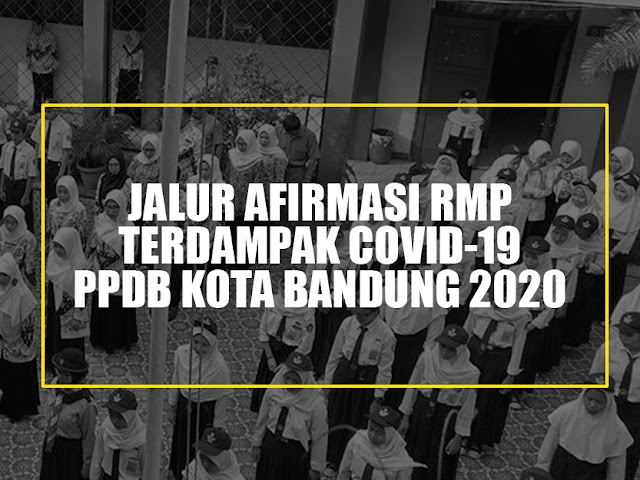 PPDB Kota Bandung Akomodir Anak Warga Miskin Terdampak Covid-19