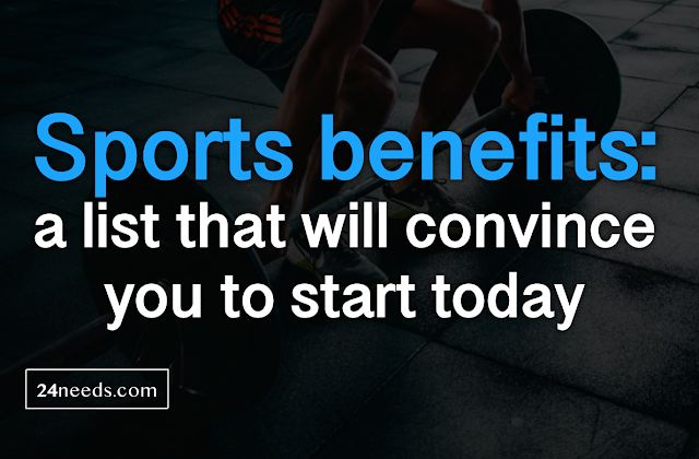 Sports benefits: a list that will convince you to start today