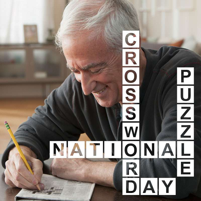 National Crossword Puzzle Day Wishes Awesome Picture