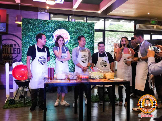 Whopper making contest