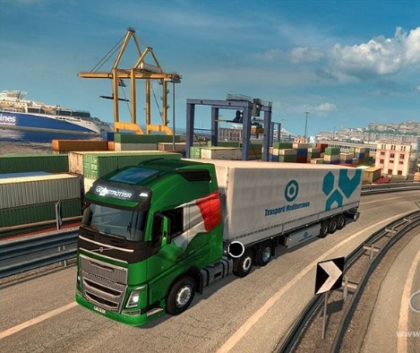 About Euro Truck Simulator