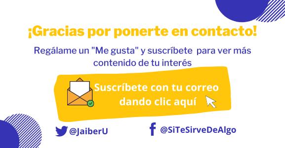 Suscríbete a Sitesirvedealgo.com