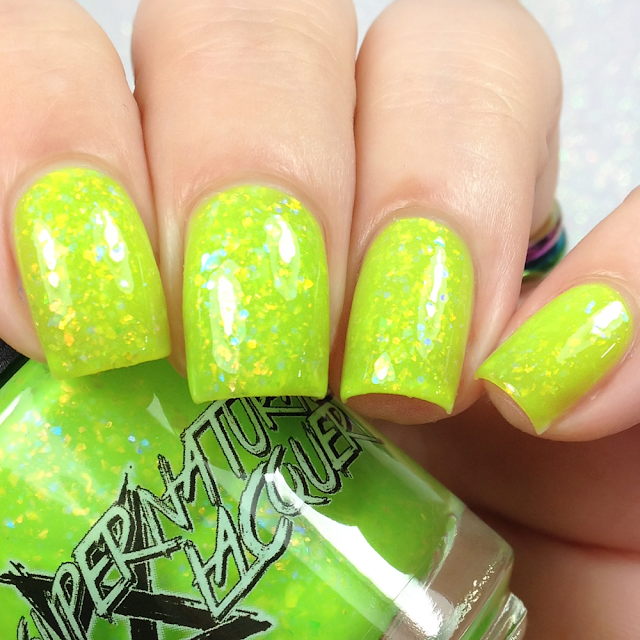Supernatural Lacquer-Haunted Mansion