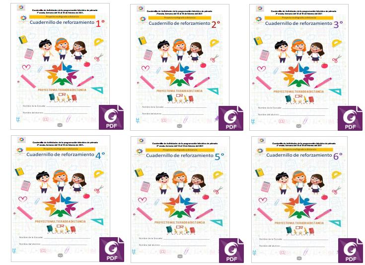📖 Semana 23 - Multigrado - Aprende en Casa SEP - Cuadernillo de Actividades de Aprende en Casa SEP ✅🥇