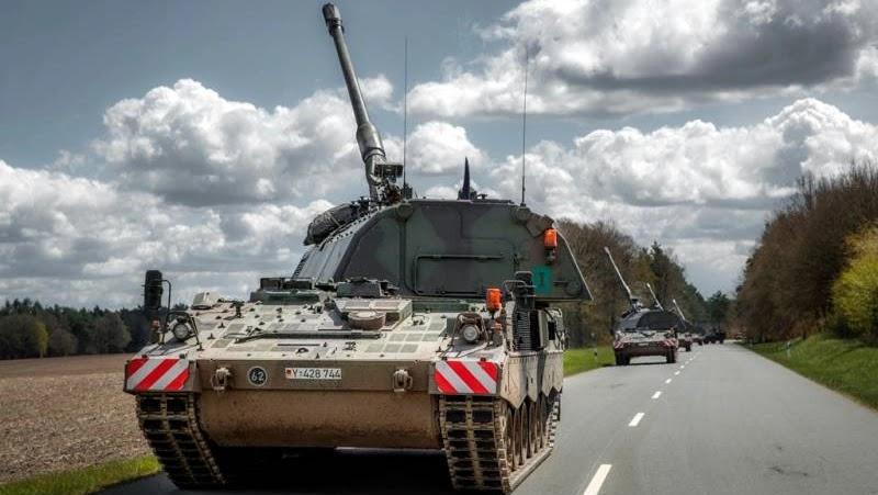 Стан і перспективи артилерії Бундесверу