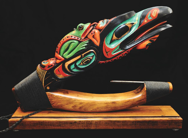 The evolution of wooden halibut hooks carved by native people of the Northwest Coast