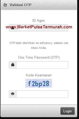 Panduan Login Webreport Market Pulsa