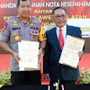 Tanda tangani MOU, Kapolda Sulsel Bersama Ketua IDI Siap Layani Masyarakat