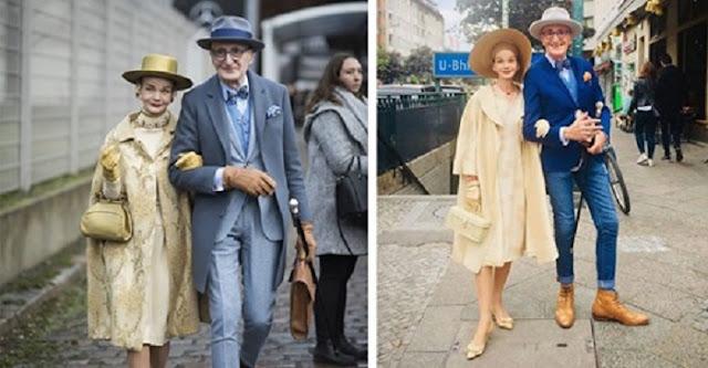 Немецкие старички-пенсионеры умеют удивлять своими стильными нарядами